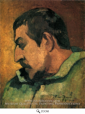 Painting Reproduction of Self Portrait, Paul Gauguin