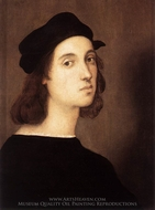 Self-Portrait painting reproduction, Raphael Sanzio