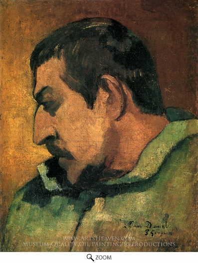 Painting Reproduction of Self-Portrait, Paul Gauguin