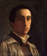 Self-Portrait painting reproduction, Edgar Degas