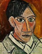 Self-Portrait by Pablo Picasso (inspired by)