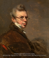 Self-Portrait painting reproduction, George Chinnery