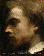 Self-Portrait painting reproduction, Henri Fantin-Latour