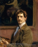 Self-Portrait by Frederick William MacMonnies
