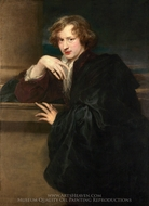 Self-Portrait painting reproduction, Sir Anthony Van Dyck