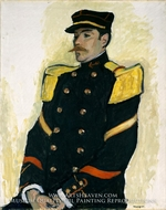 Sergeant of the Colonial Regiment painting reproduction, Albert Marquet