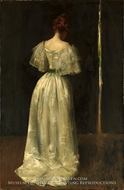 Seventeenth Century Lady by William Merritt Chase