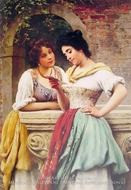 Shared Correspondance by Eugene De Blaas