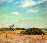Shinnecock Hills, Long Island by William Merritt Chase