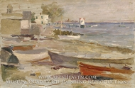 Shore at Orient, Long Island by Reynolds Beal