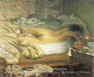 Siesta by Pierre Bonnard