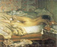 Siesta painting reproduction, Pierre Bonnard