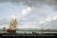 Sipping off Madras painting reproduction, Adam Callander