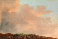 Sky at Dusk painting reproduction, Pierre Henri De Valenciennes