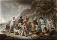 Slave Trade painting reproduction, John Raphael Smith