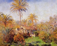 Small Country Farm in Bordighera painting reproduction, Claude Monet