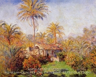 Small Country Farm in Bordighera by Claude Monet