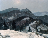 Snow Mountain by Henry Hobart Nichols