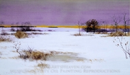 Snow Scene painting reproduction, Bruce Crane