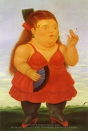 Spanish painting reproduction, Fernando Botero