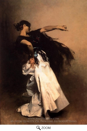 Painting Reproduction of Spanish Dancer, John Singer Sargent