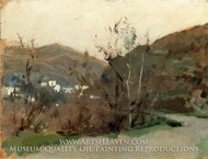 Spanish Landscape painting reproduction, John Singer Sargent