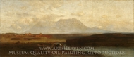 Spanish Peaks, Southern Colorado, Late Afternoon painting reproduction, Samuel Colman