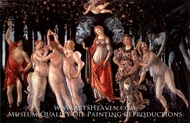 Spring painting reproduction, Sandro Botticelli