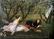 Spring painting reproduction, James Tissot