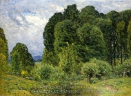 Spring Afternoon painting reproduction, John Joseph Enneking