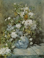 Spring Bouquet painting reproduction, Pierre-Auguste Renoir