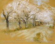 Spring Landscape painting reproduction, Robert Blum