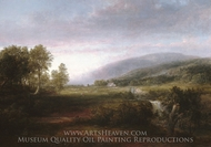 Spring Landscape painting reproduction, Thomas Doughty