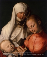 St. Anne with the Virgin and Child by Albrecht Durer