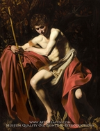 St. John the Baptist by Caravaggio