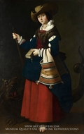St. Margaret by Francisco De Zurbaran
