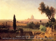 St. Peter's, Rome by George Inness