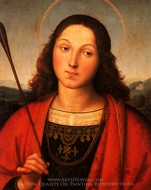 St. Sebastian painting reproduction, Raphael Sanzio