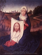 St. Veronica painting reproduction, Hans Memling