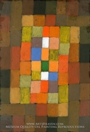 Static-Dynamic Gradation by Paul Klee