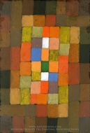 Static-Dynamic Gradation painting reproduction, Paul Klee