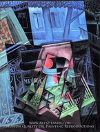 Still Life and Townscape by Juan Gris