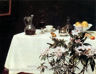 Still Life, Corner of a Table by Henri Fantin-Latour