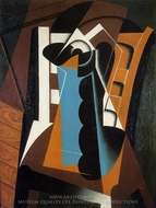 Still Life on a Chair painting reproduction, Juan Gris