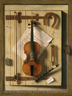 Still Life, Violin and Music by William Michael Harnett