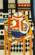 Still Life with a Beer Mug by Fernand Leger