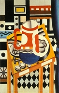 Still Life with a Beer Mug painting reproduction, Fernand Leger