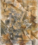 Still Life with Banderillas painting reproduction, Georges Braque