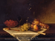 Still Life with Fruit painting reproduction, Carducius Plantagenet Ream
