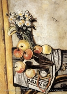 Still Life with Marguerites painting reproduction, Max Beckmann